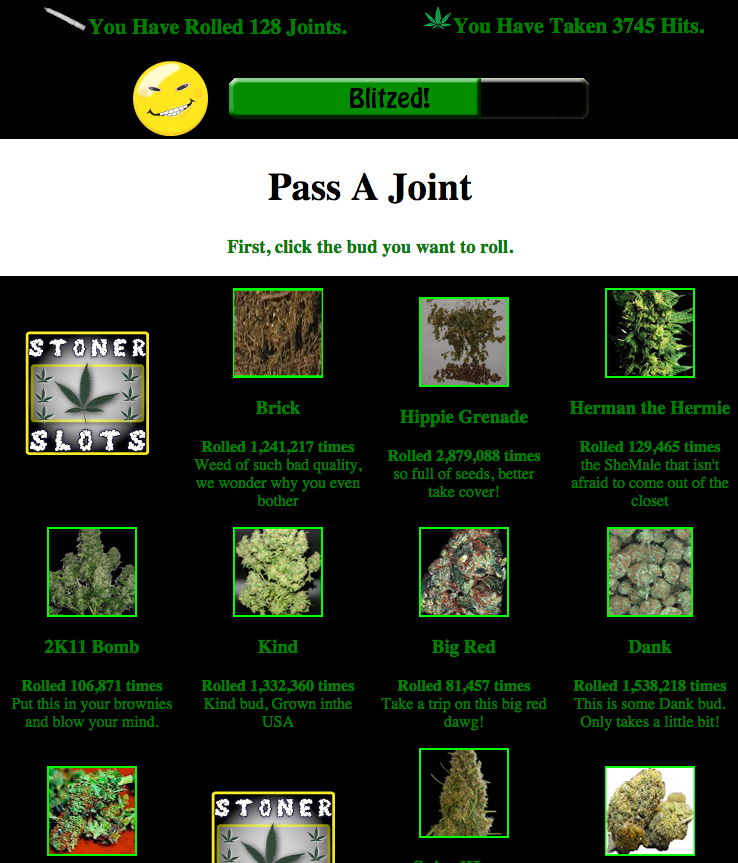 Play the original stoner game on Facebook NOW!