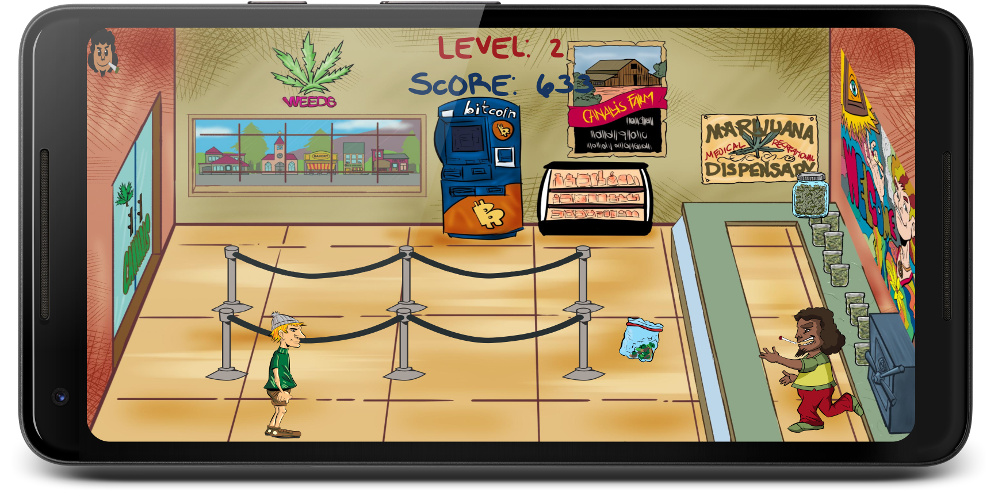 Budtender a free weed game for stoners